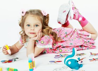 Дети для фото в рекламе