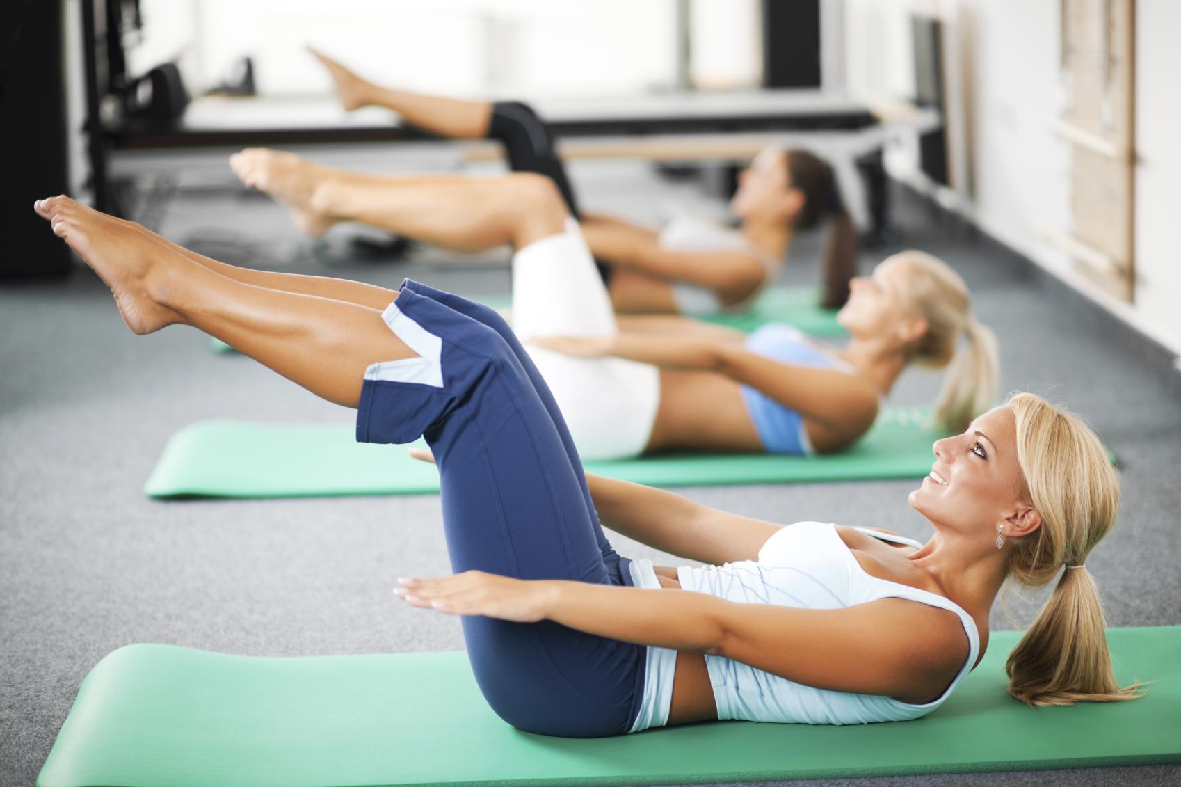 Спортзал для похудения ног