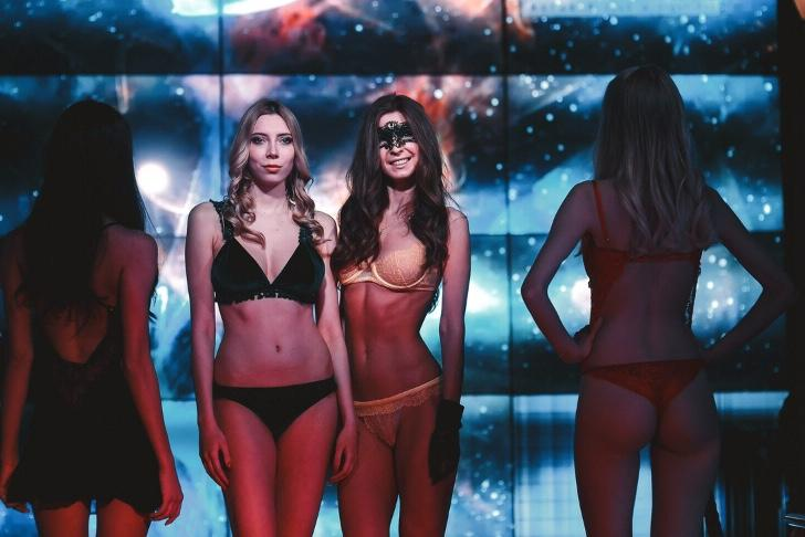 Lingerie Show Moscow 22.12