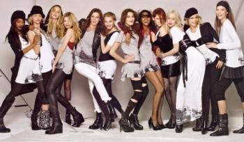 Девушки модели для полнометражной картины