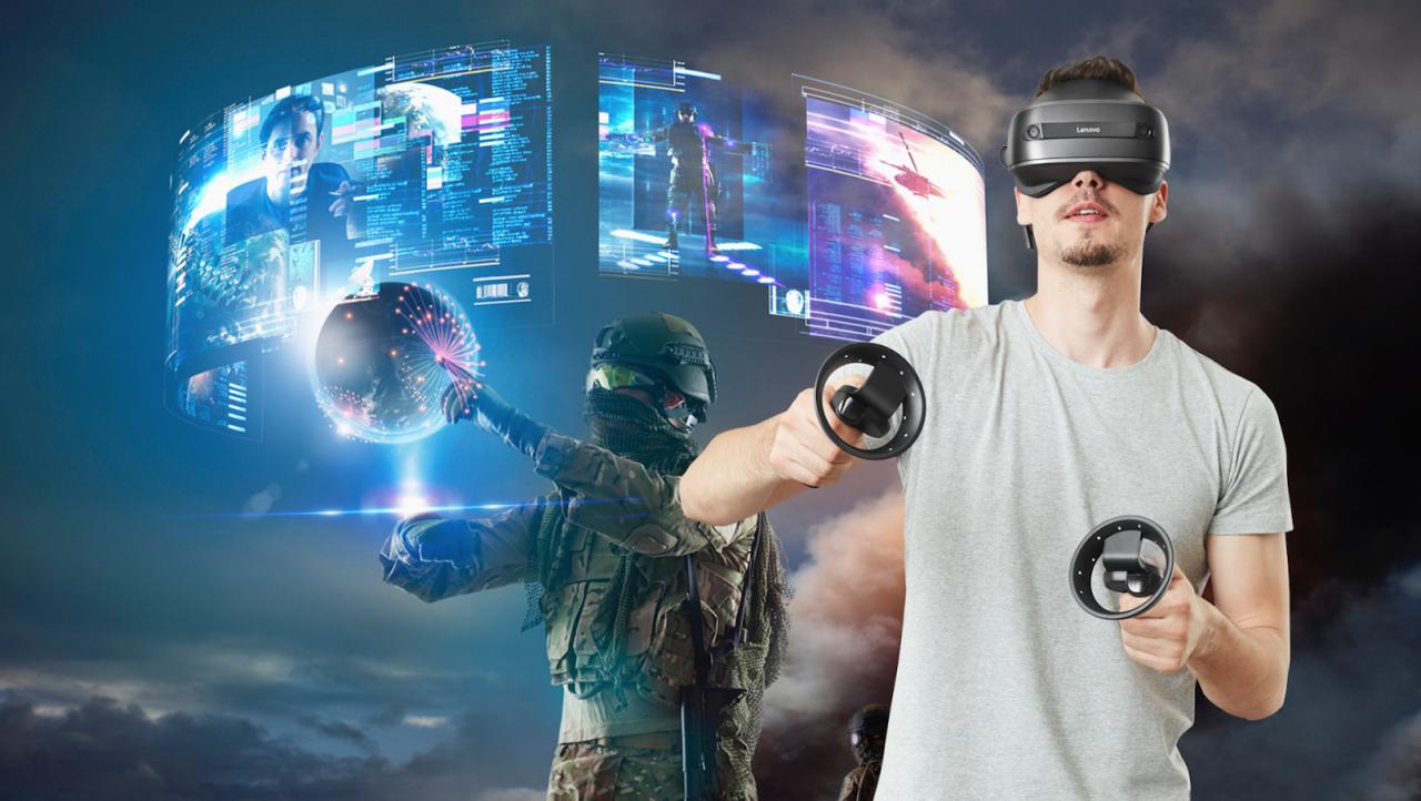 Демонстратор-консультант VR очков