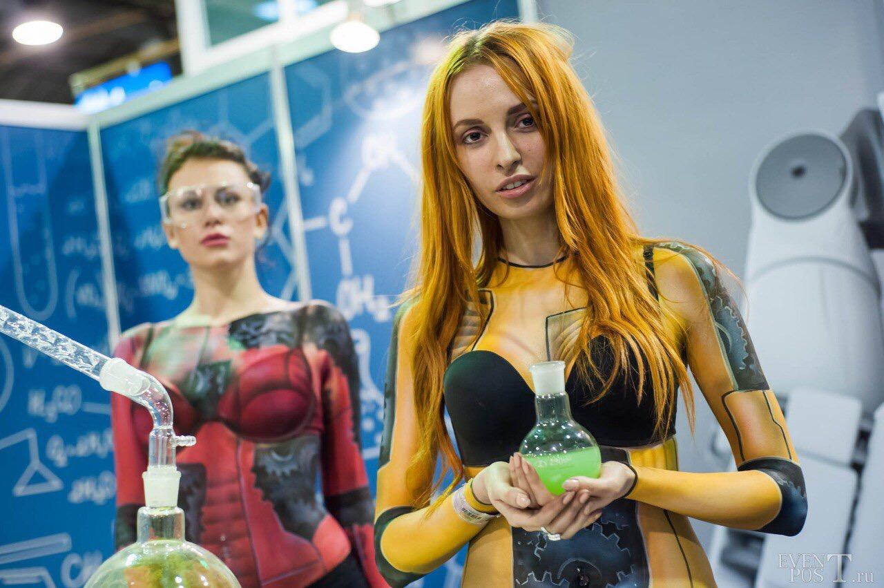 """Москва! Кастинг бодиарт моделей для работы на мероприятии """"Make up for ever""""."""