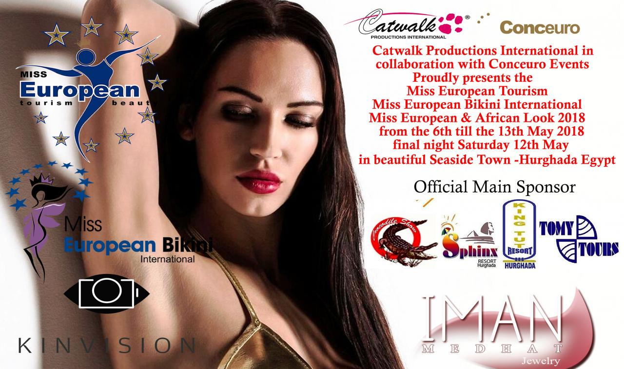 Конкурс Египет Miss European Tourism & Miss European Bikini International