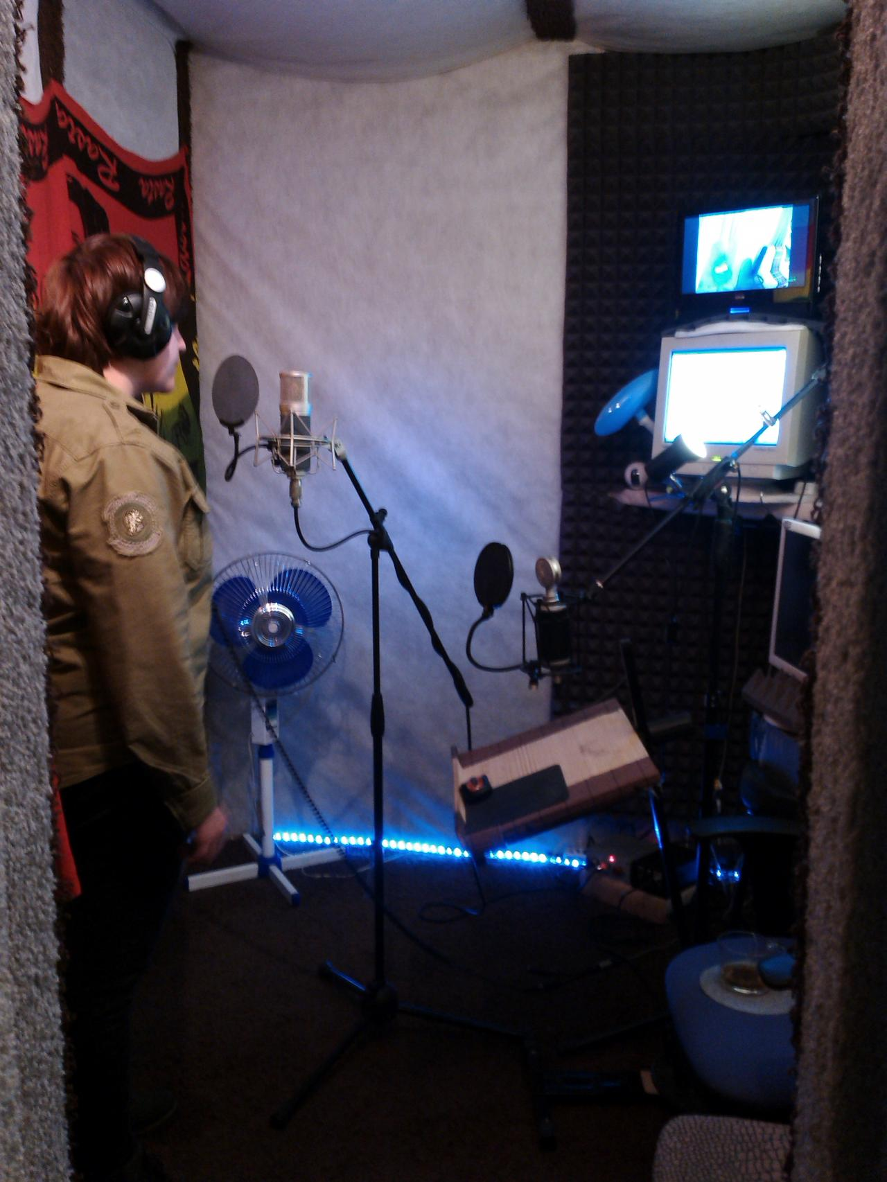 Записываем профессиональное аудиопортфолио актёрам, дикторам, чтецам, желающим озвучивать аудиокниги и не только.