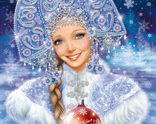 Для съёмок рекламного ролика на роль Снегурочки ищем девушек, женщин.