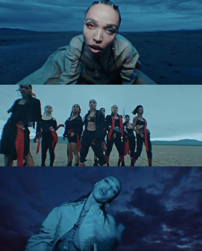 Танцовщицы в жанре КОНТЕМП и главная женская роль в рэп-клип