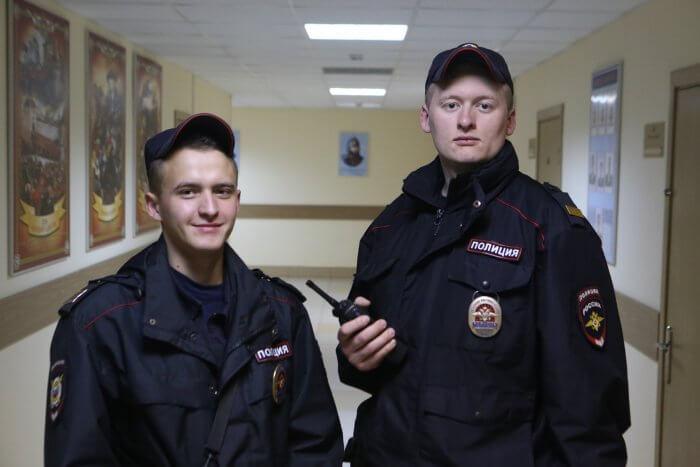 18 марта полицейские