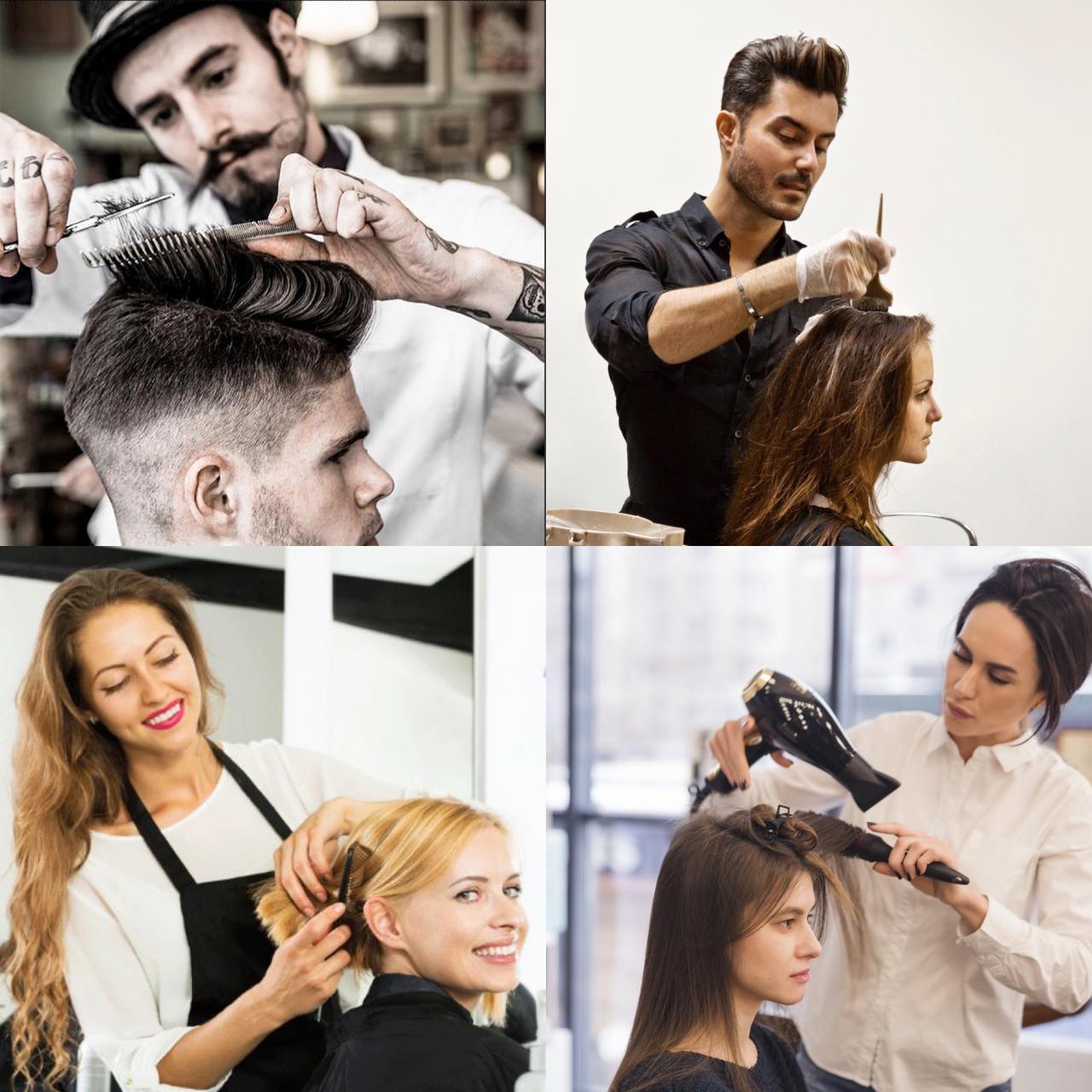 21 марта, настоящие парикмахеры