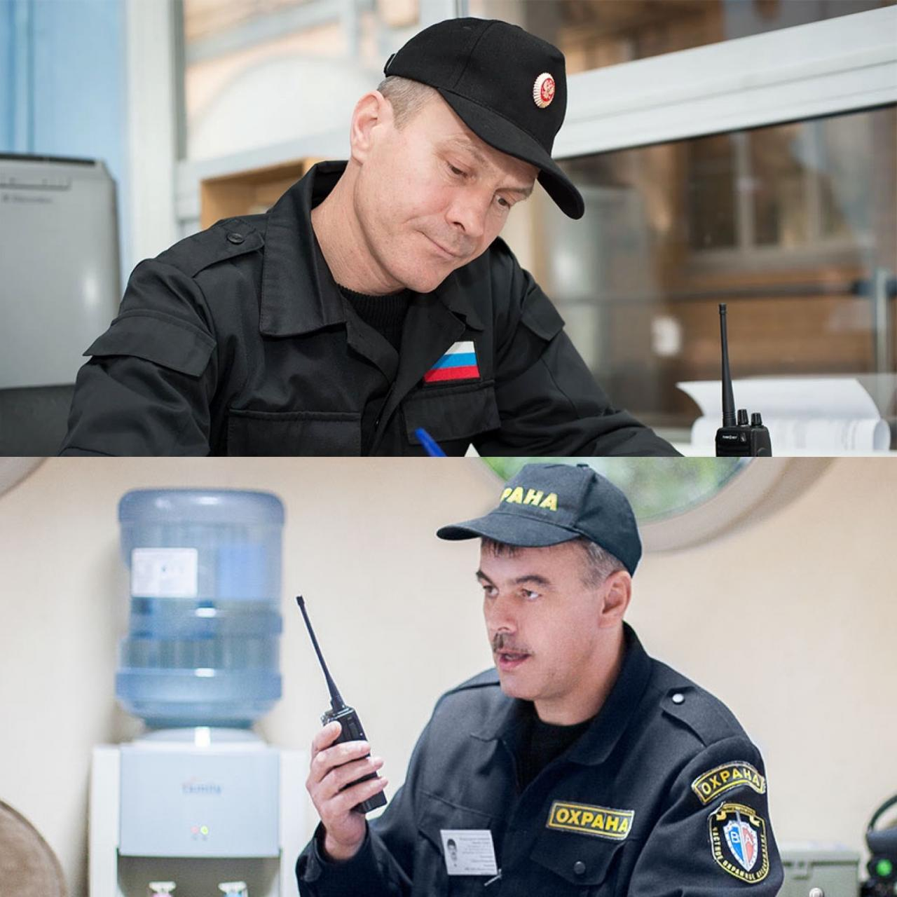 Охранник, мужчина 35-50 лет