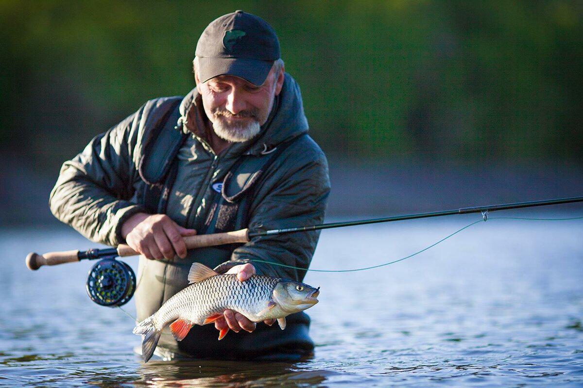 Рыбаки, мужчины 45-60 лет