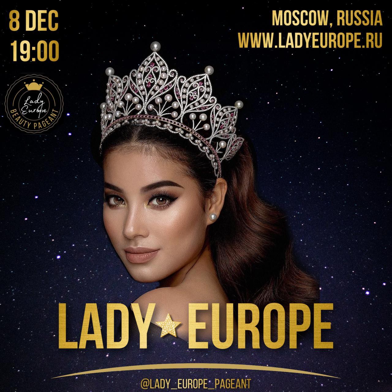 Международный конкурс Lady Europe | Леди Европа 2021